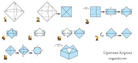 Оригами церковь схема сборки фото 368