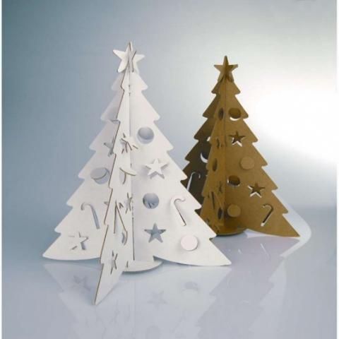 Дерево из бумаги - елка