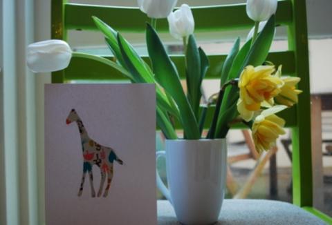 Делаем открытки с детьми