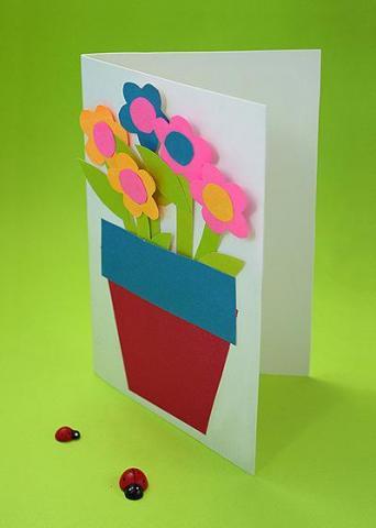 Открытка на любой праздник — открытка с цветами