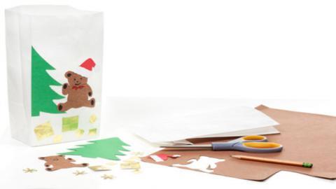 Открытки сделанные руками детей — Новогодние