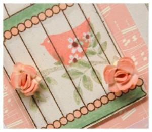 Розочки для открытки
