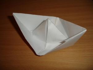 Корабль из бумаги