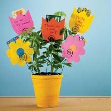 Цветы из бумаги букеты