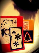Поздравительные открытки на Новый Год — идеи
