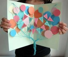 Новогодние открытки своими руками из бумаги схемы