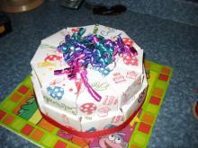 Торт оригами своими руками