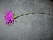 Цветы из гофрированной бумаги схемы. Астра.