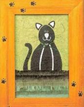 Поделка из бумаги - аппликация «Кошка»