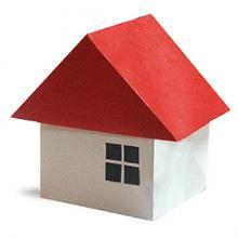 Схема Объемное 3д оригами дом (крыша)