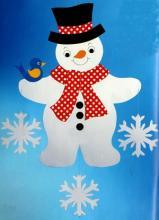 Любимый снеговик