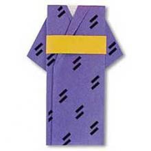 Схема оригами кимоно