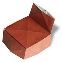 Схема оригами кресло