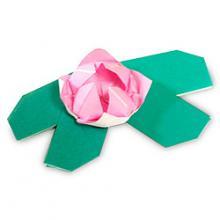 Модульное оригами водяная лилия