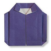 Схема оригами свитер
