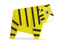 Схема оригами тигр