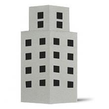 Схема оригами здание